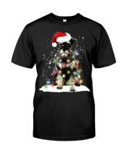 Schnauzer Christmas Classic T-Shirt thumbnail
