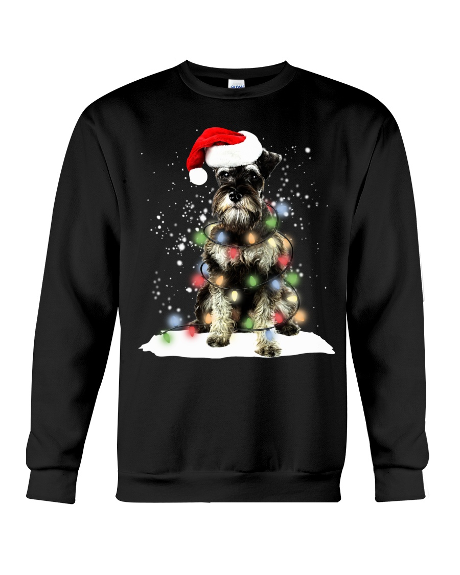 Schnauzer Christmas Crewneck Sweatshirt