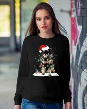 Schnauzer Christmas Crewneck Sweatshirt lifestyle-unisex-sweatshirt-front-9