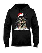 Schnauzer Christmas Hooded Sweatshirt thumbnail