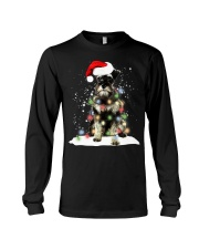 Schnauzer Christmas Long Sleeve Tee thumbnail