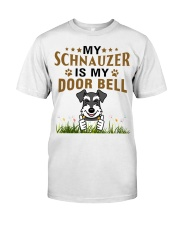 My Schnauzer Is My Door Bell Classic T-Shirt thumbnail