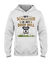 My Schnauzer Is My Door Bell Hooded Sweatshirt thumbnail