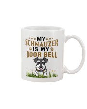 My Schnauzer Is My Door Bell Mug front