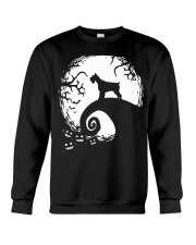 Schnauzer Halloween Crewneck Sweatshirt thumbnail