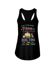 Quilting In My Dream Ladies Flowy Tank thumbnail