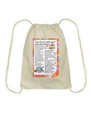 Quilter's code Drawstring Bag thumbnail