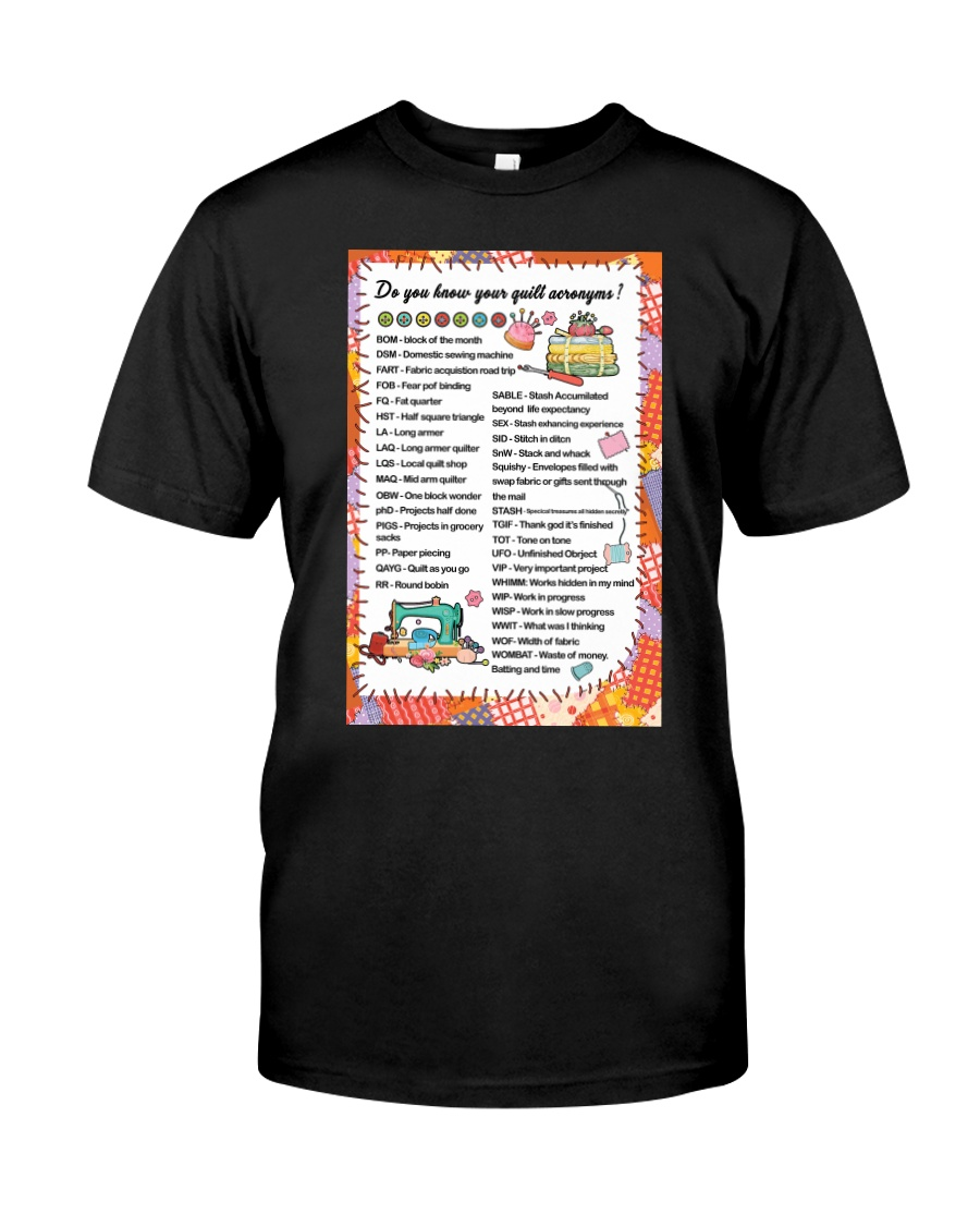 Quilter's code Classic T-Shirt