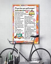 Quilter's code 11x17 Poster lifestyle-poster-7