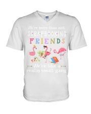 Scrapbooking V-Neck T-Shirt thumbnail
