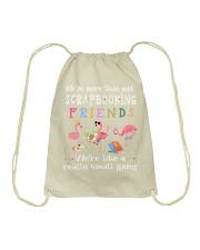 Scrapbooking Drawstring Bag thumbnail