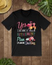 Quilting Plan Classic T-Shirt lifestyle-mens-crewneck-front-18