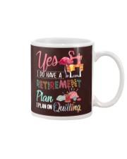 Quilting Plan Mug thumbnail