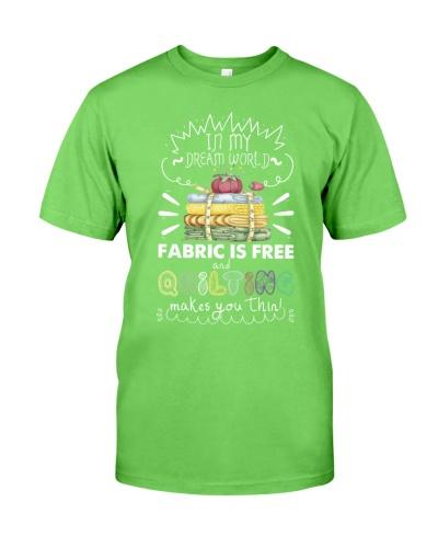 In my dream world fabric