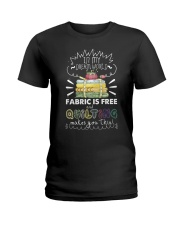 In my dream world fabric Ladies T-Shirt thumbnail