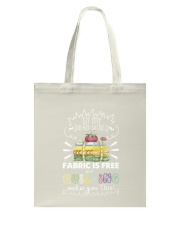 In my dream world fabric Tote Bag thumbnail