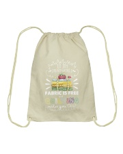 In my dream world fabric Drawstring Bag thumbnail