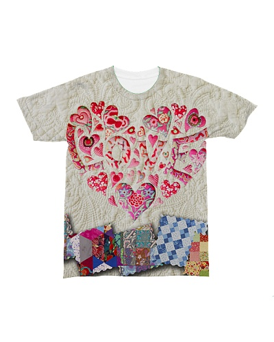 sewing - quilting tee