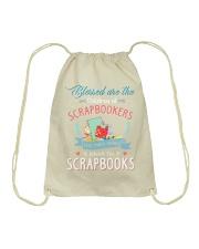 Scrapbook Drawstring Bag thumbnail