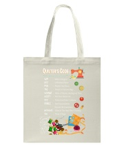 Quilter's code Tote Bag thumbnail