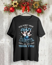 Bowling Classic T-Shirt lifestyle-holiday-crewneck-front-2