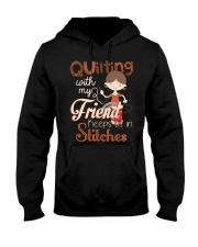 Quilting Hooded Sweatshirt thumbnail