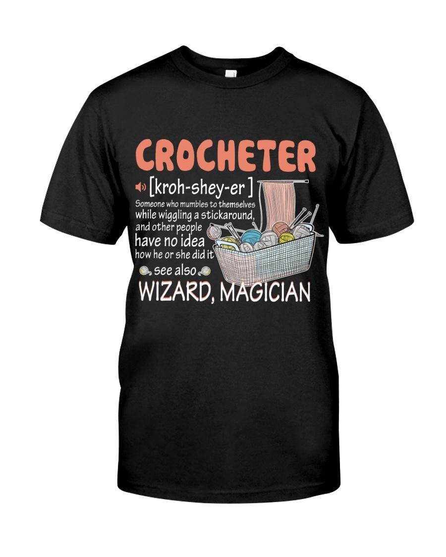 CROCHETING Classic T-Shirt