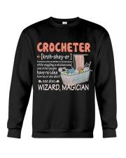 CROCHETING Crewneck Sweatshirt thumbnail