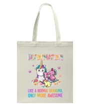 Grandmacorn Tote Bag tile