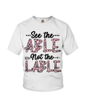 See The Able Not The Lable Youth T-Shirt thumbnail