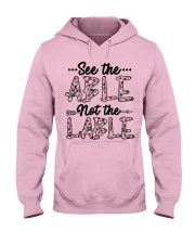 See The Able Not The Lable Hooded Sweatshirt thumbnail