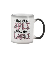 See The Able Not The Lable Color Changing Mug thumbnail