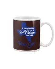 3 gallons of crazy in a 2 gallon bucket Mug thumbnail