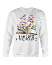 I Have Lived A Thousand Lives Crewneck Sweatshirt thumbnail