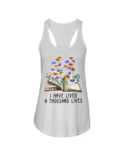 I Have Lived A Thousand Lives Ladies Flowy Tank thumbnail