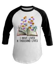 I Have Lived A Thousand Lives Baseball Tee thumbnail