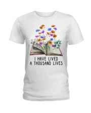 I Have Lived A Thousand Lives Ladies T-Shirt thumbnail