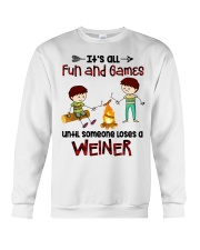 Its All Fun And Games  Crewneck Sweatshirt thumbnail