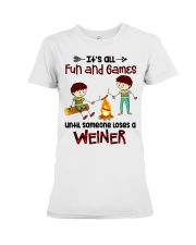 Its All Fun And Games  Premium Fit Ladies Tee thumbnail