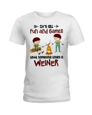 Its All Fun And Games  Ladies T-Shirt thumbnail