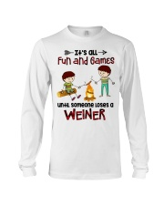 Its All Fun And Games  Long Sleeve Tee thumbnail