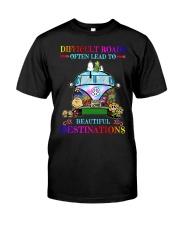 Beautiful destinations Classic T-Shirt thumbnail