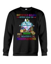 Beautiful destinations Crewneck Sweatshirt front