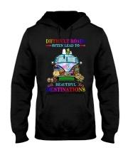 Beautiful destinations Hooded Sweatshirt thumbnail