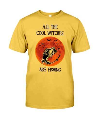 All The Cool Witches Are Fishing