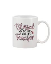 Blessed To Be Called Teacher Mug tile