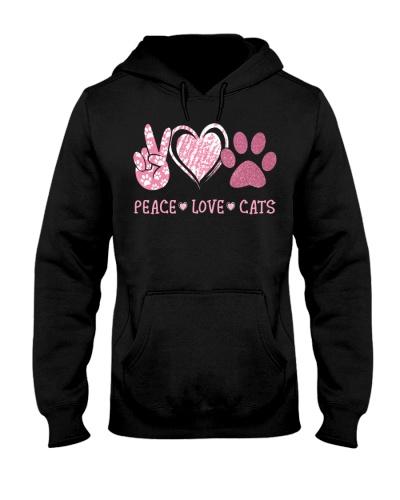 Peace love cats