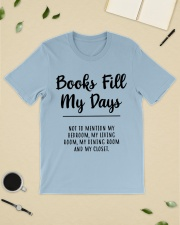 Books fill my days Classic T-Shirt lifestyle-mens-crewneck-front-19