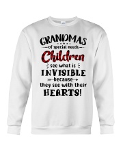Grandmas of special needs children Crewneck Sweatshirt thumbnail