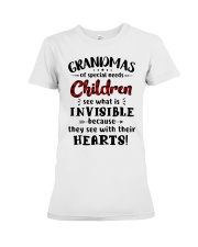 Grandmas of special needs children Premium Fit Ladies Tee thumbnail